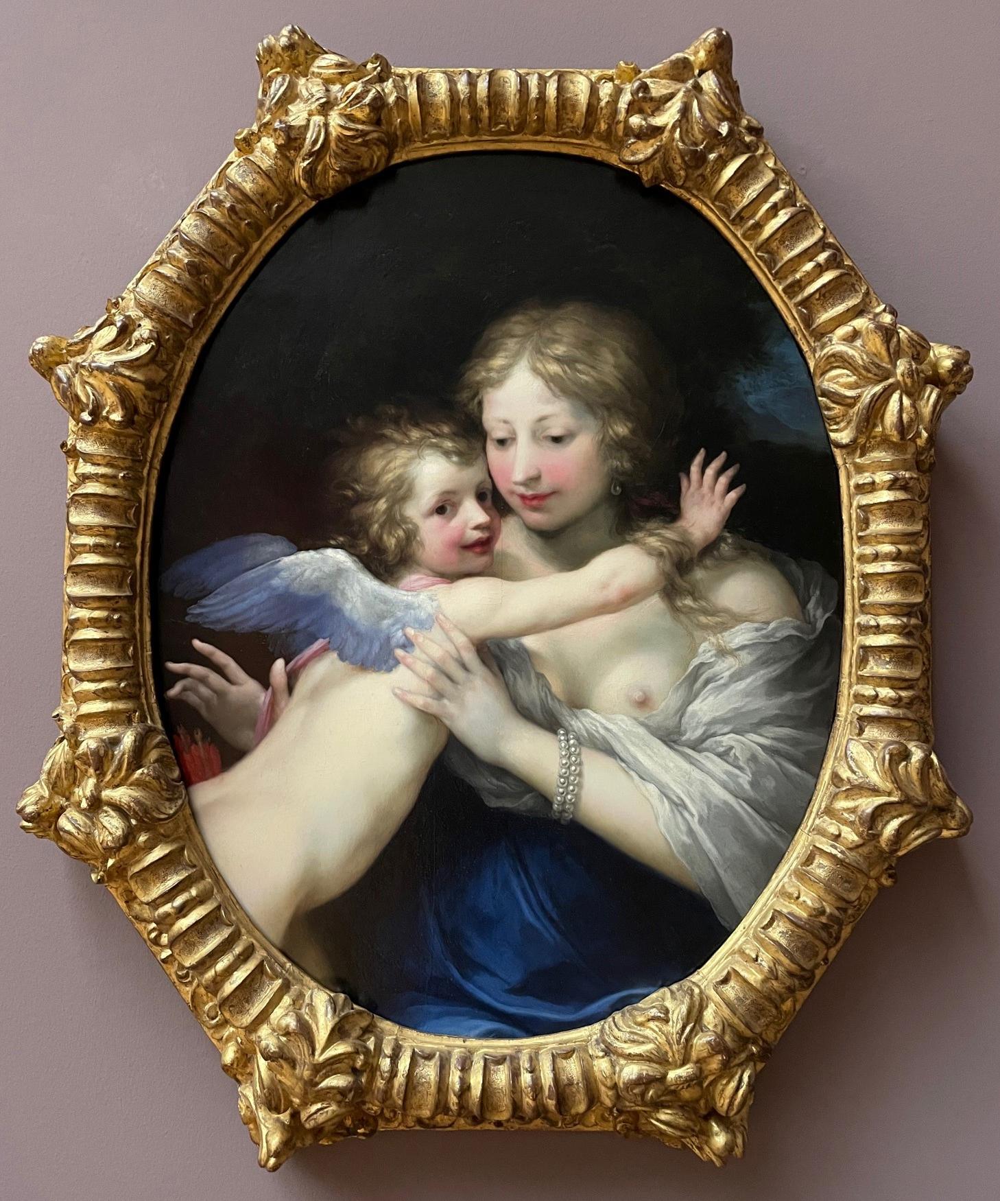 10 Il Volterrano Venus and Cupid c1650 Staatsgalerie Stuttgart