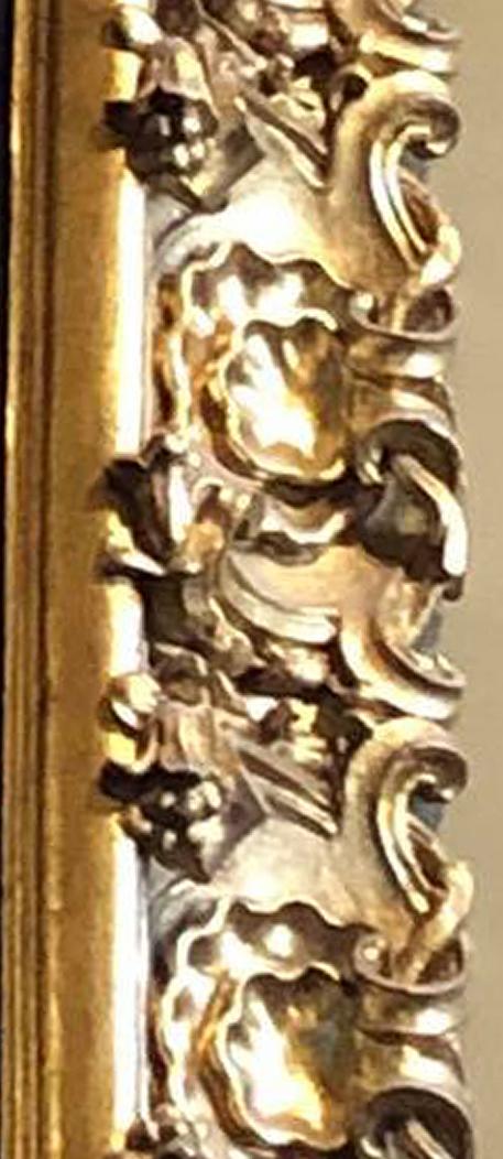 18E Veronese Baptism of Christ c1580 detail of frame