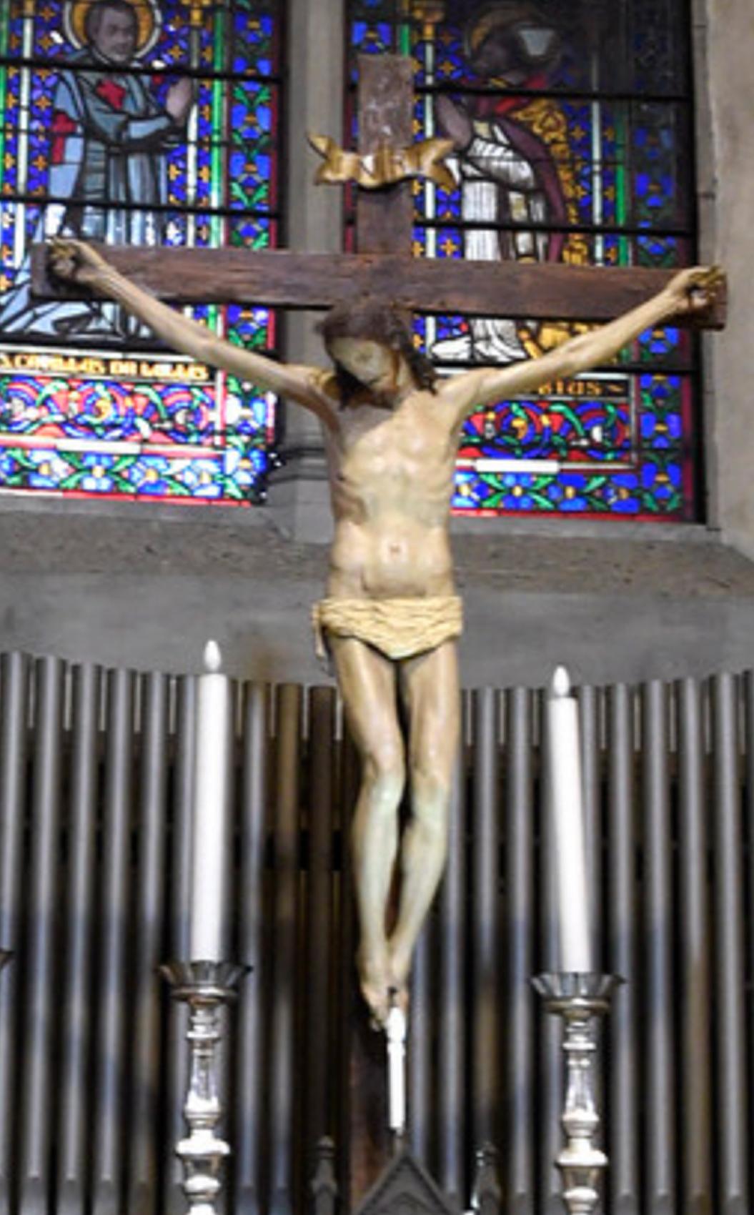 19B Jacopo Maria Foggini Crucifix San Maria Maggiore