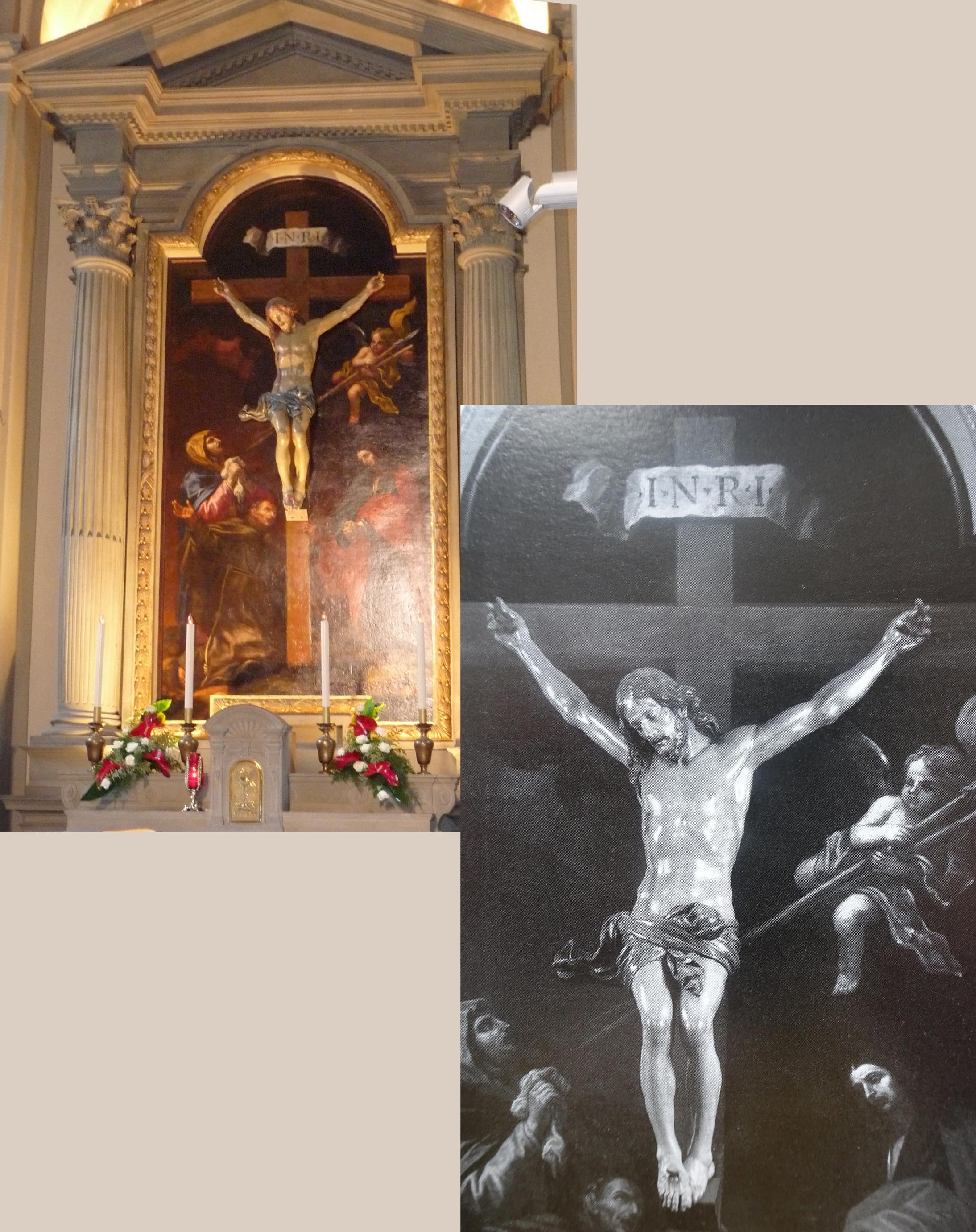 19C Volterrano & JM Foggini Virgin St John Evangelist & Pietro dAlcantara Chiesa dei SS Quirico Lucia & Pietro d'Alcantara 2