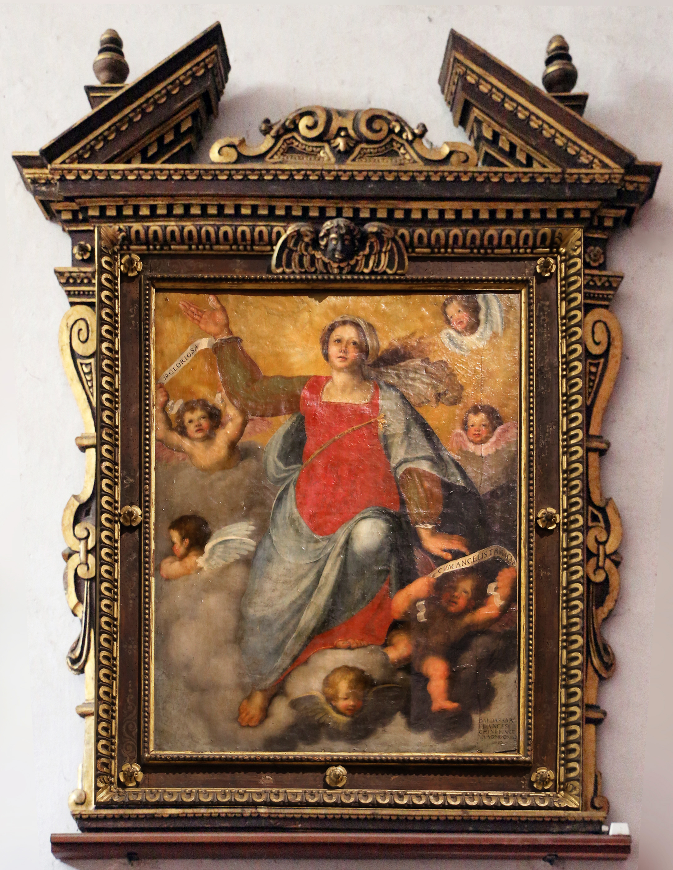 2 Il Volterrano Assumption of the Virgin 3