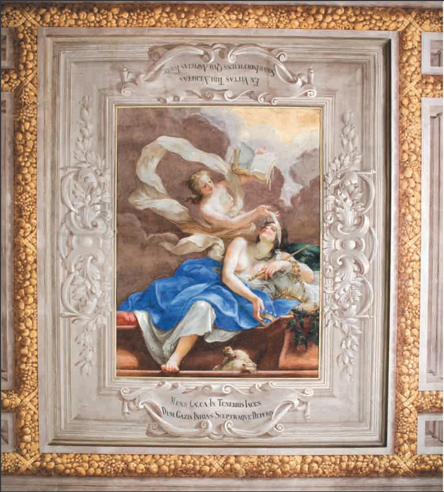8 Il Volterrano Truth illuminating Human Blindness 1st floor of Palazzo della Gherardesca