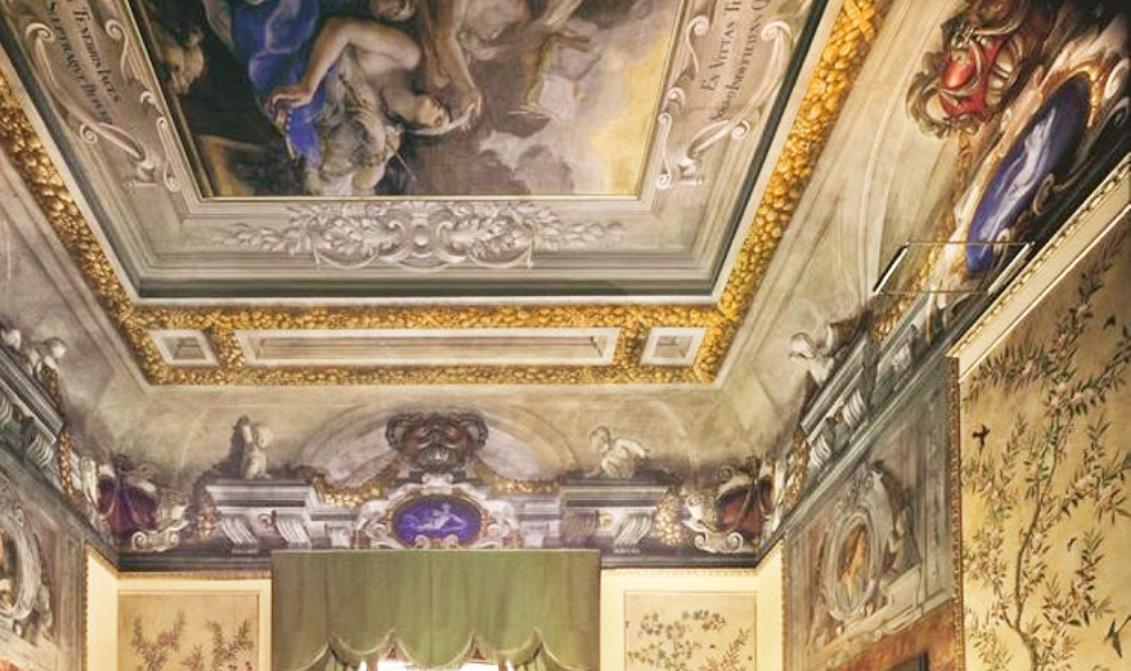 8B Il Volterrano Truth illuminating Human Blindness Palazzo della Gherardesca detail