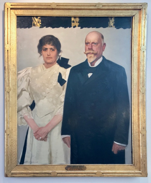 10B Harald SlottMøller Amalie & Erik Skram 1895 Bergen Public Library Norway