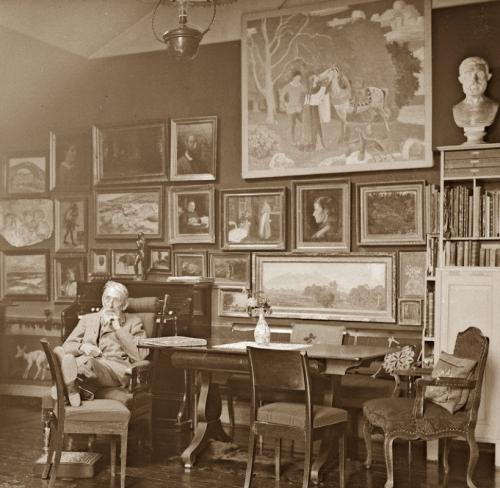 17B Joachim Skovgaard in his studio
