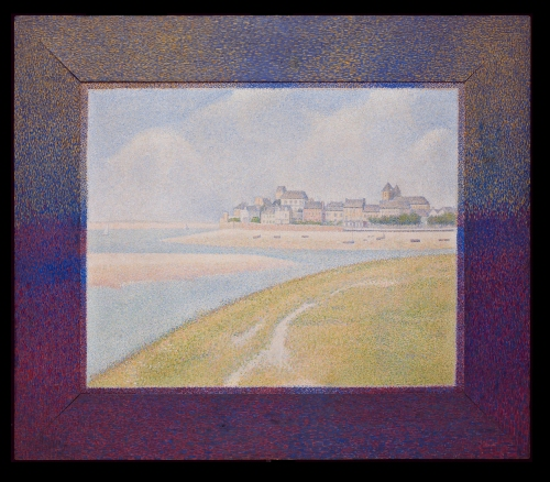 2 Georges Seurat View of Le Crotoy 1889 Detroit IA