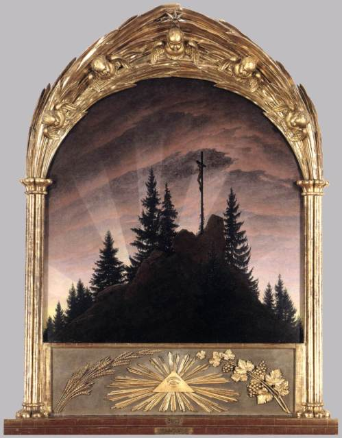 3 Caspar David Friedrich The Cross in the mountains 2