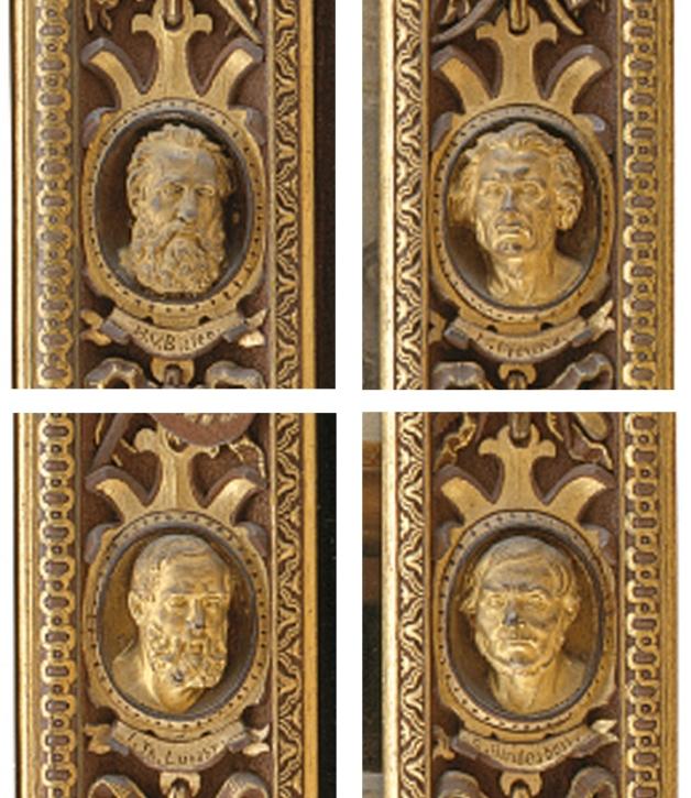 8B Wilhelm Marstrand Professor N L Høyen 1868 details