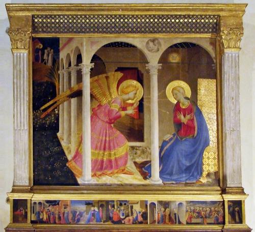 9B Fra Angelico Cortona Annunciation