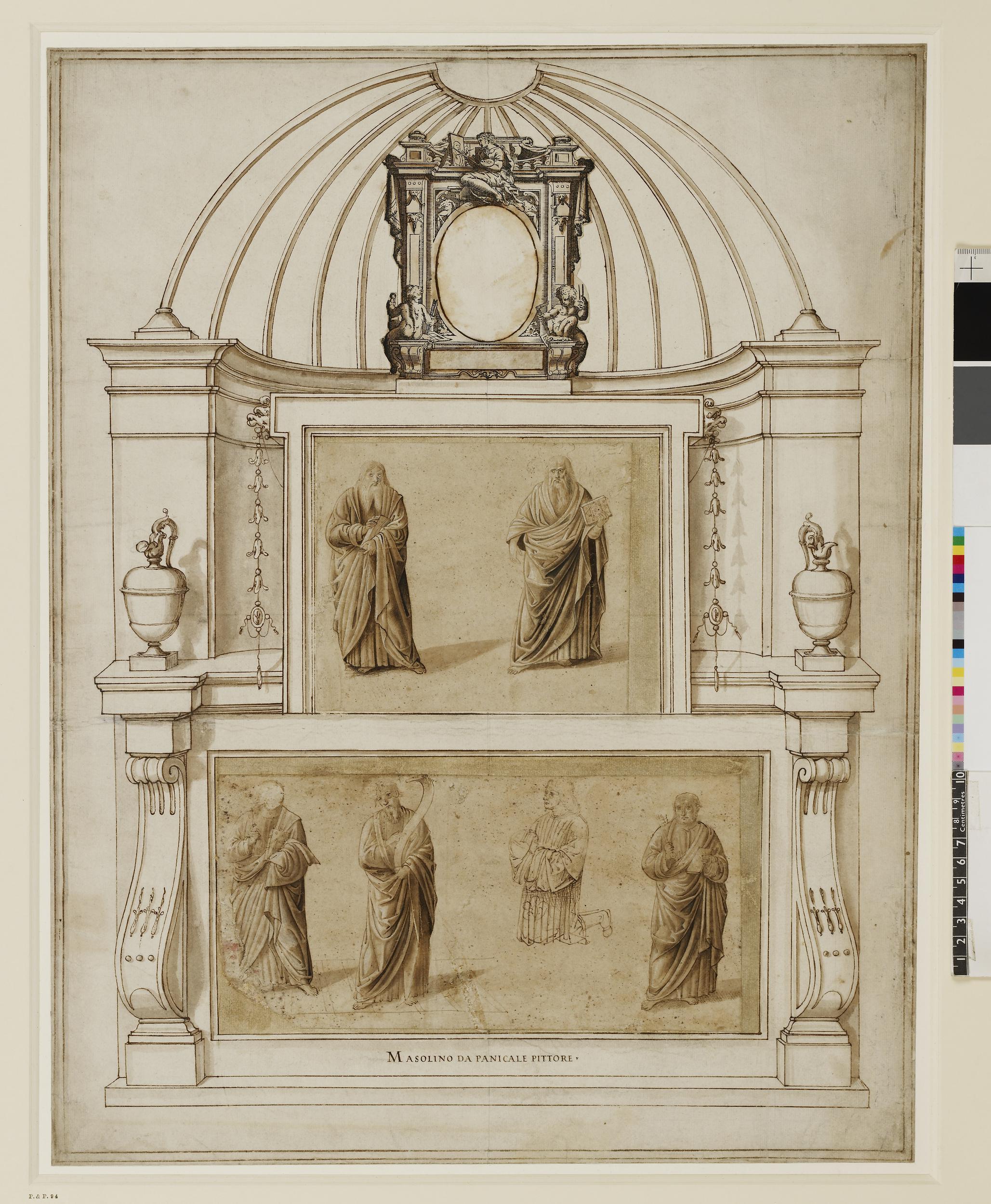 1 Benozzo Gozzoli circle of Vasari Il libro BM