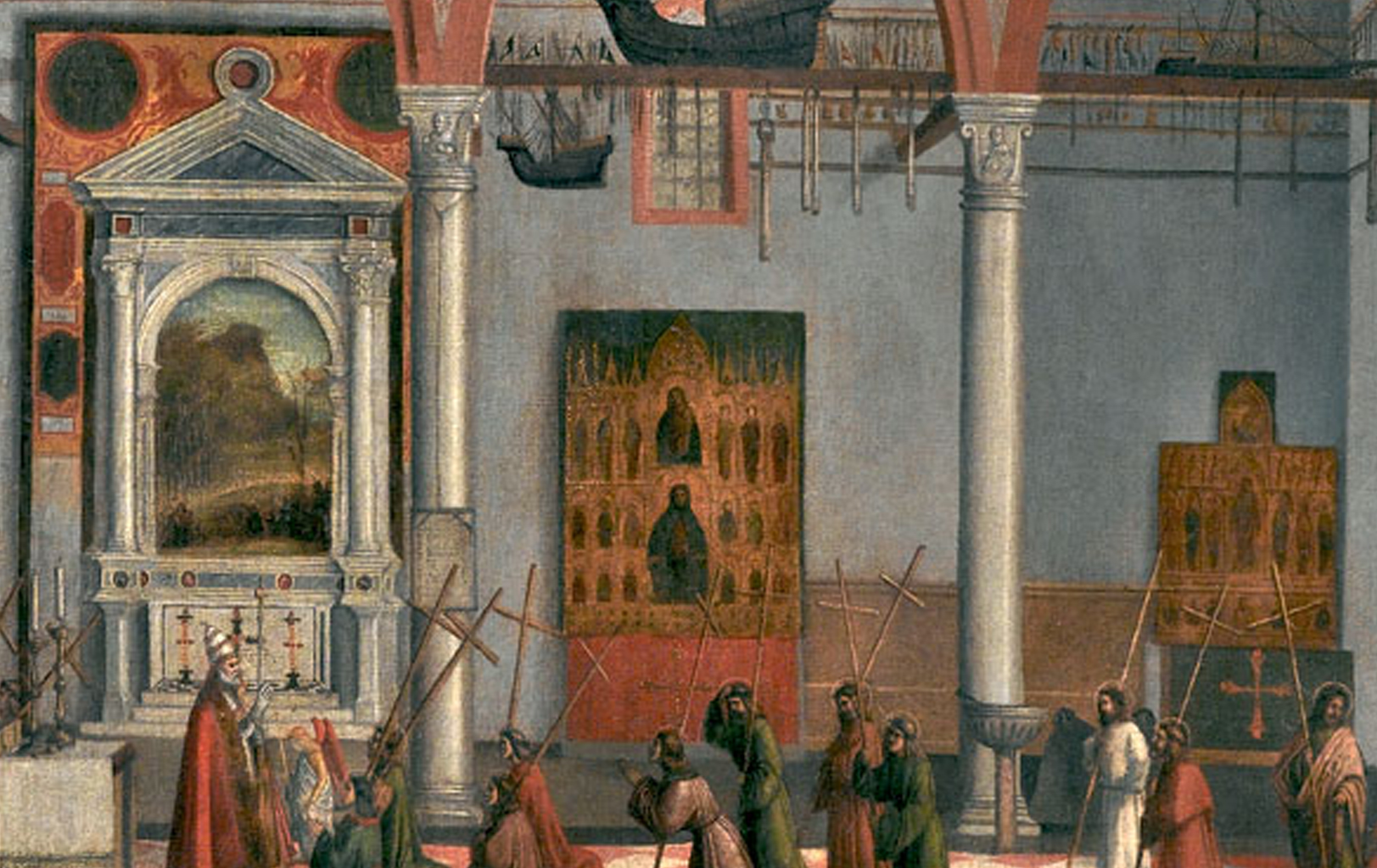 10 Carpaccio Vision of Prior Ottobon San Antonio di Castello 1515 detail 2