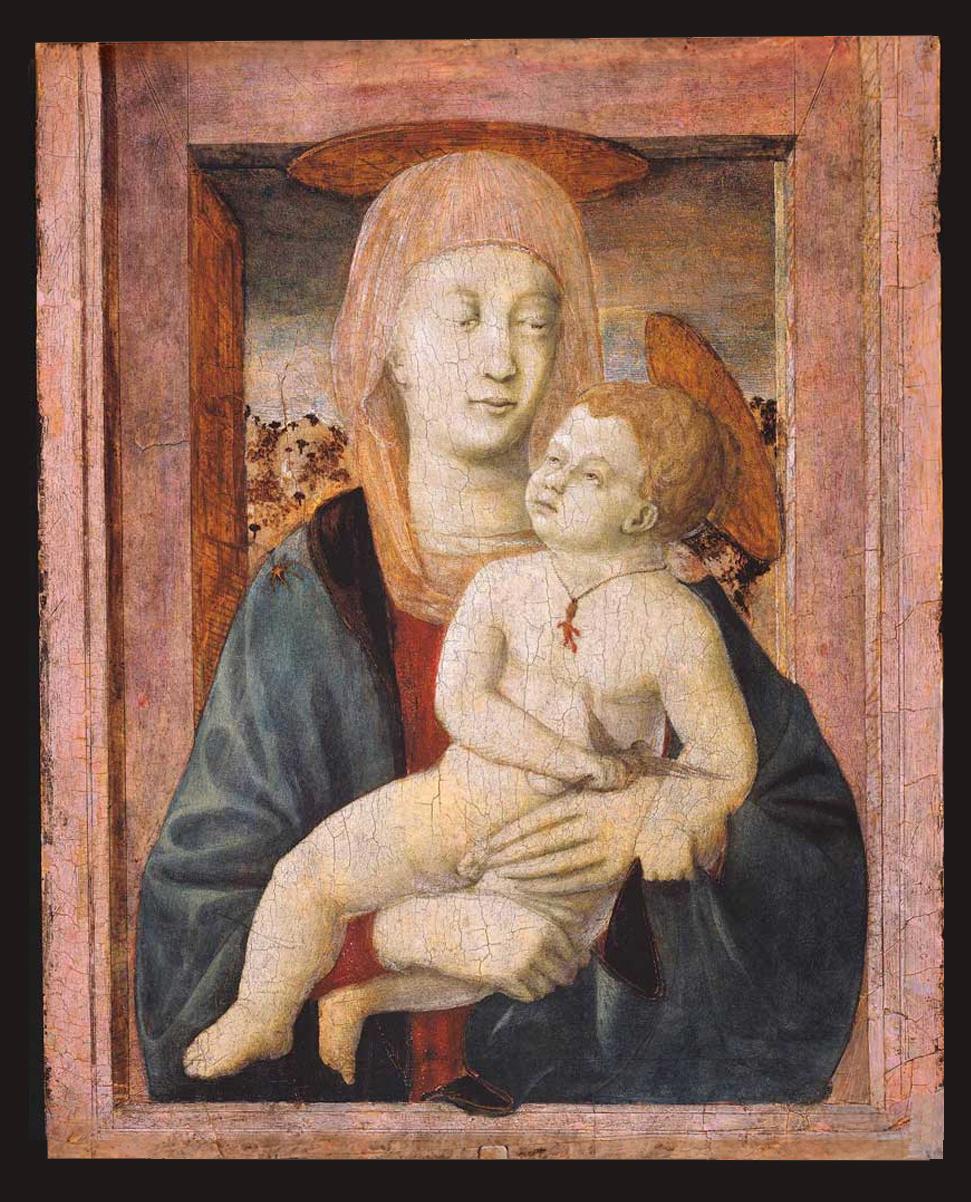11 Piero della Francesca Madonna & Child 1432to39 tempera panel The Alana Collection