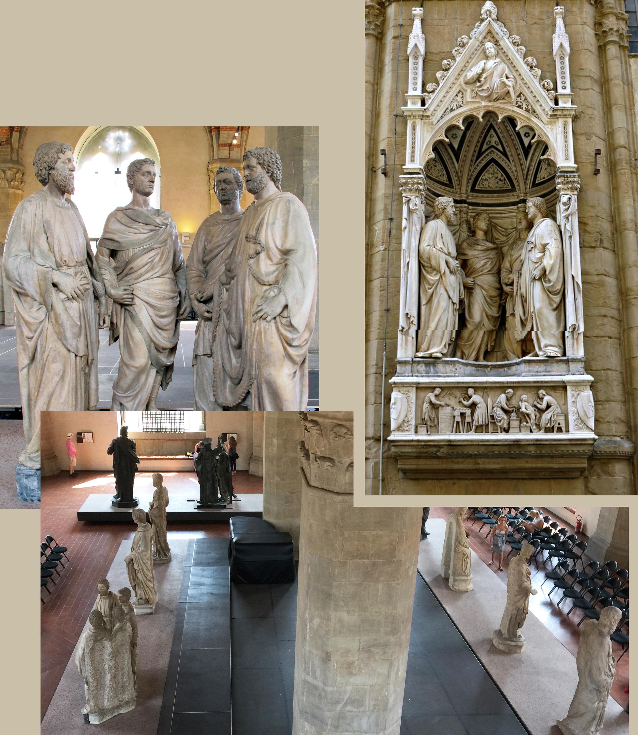 12 Nanni di Banco Four saints 1414to17 Arte dei Maestri di Pietra e di Legname Orsanmichele 2