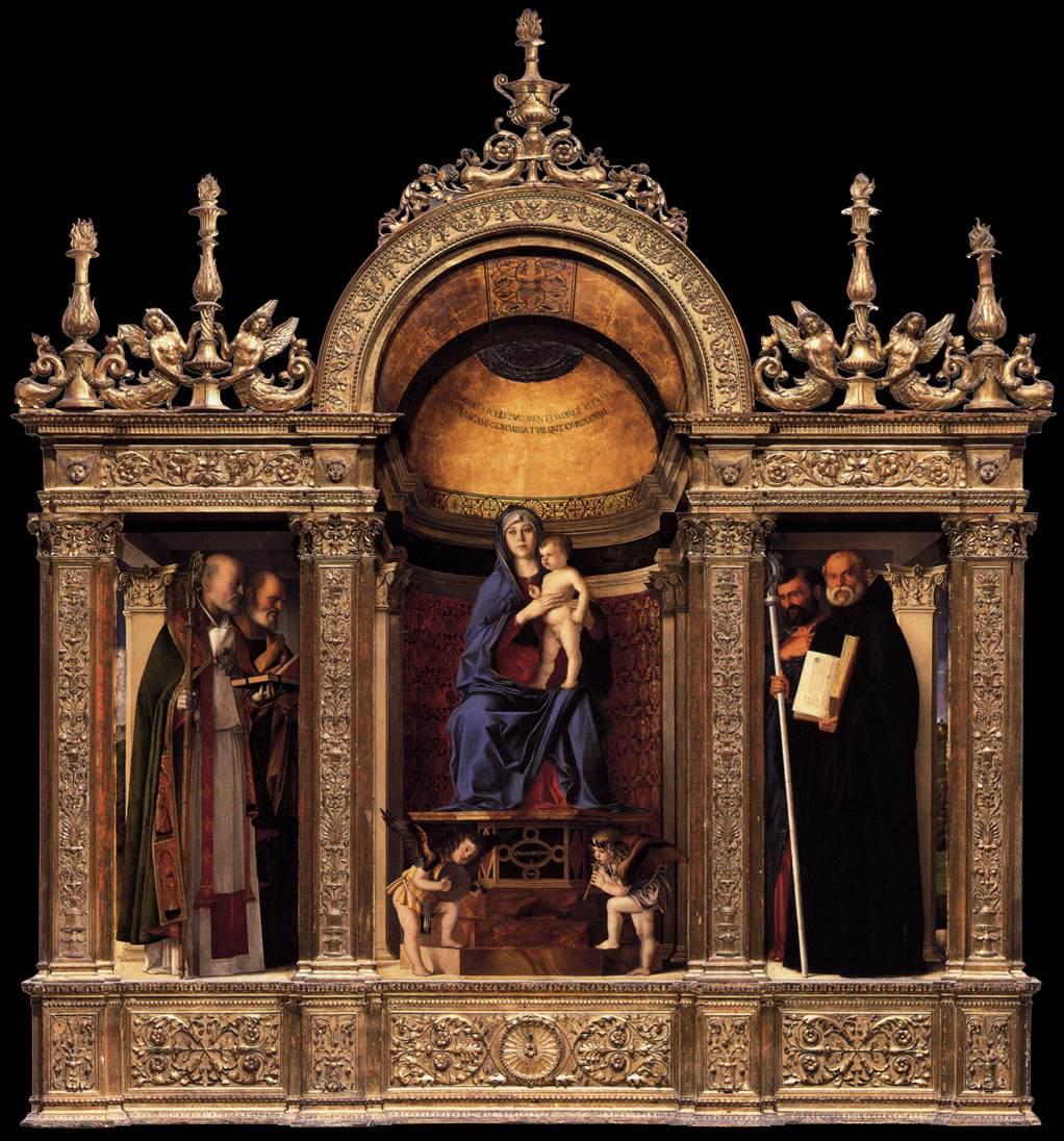 17 Giovanni Bellini Frari Triptych