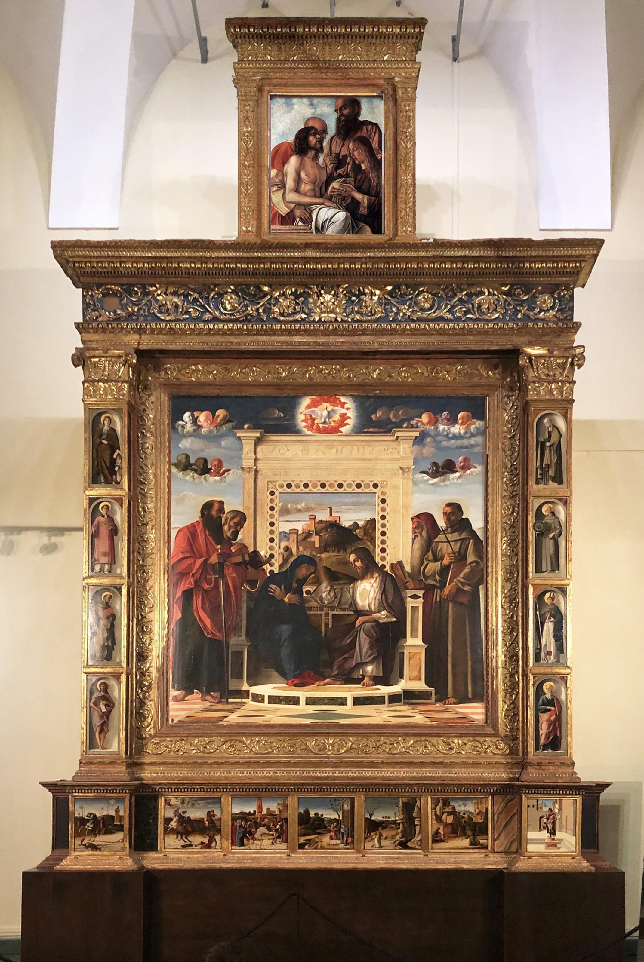 18 Giovanni Bellini Pesaro Altarpiece Museo Civico Pesaro