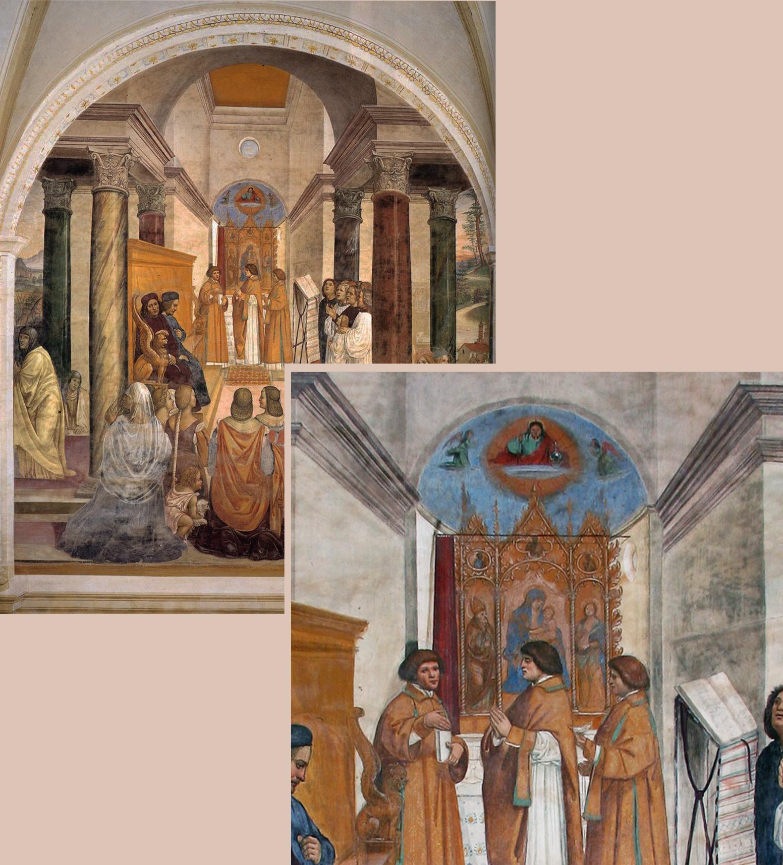 23 Sodoma St Benedict 15050to08 from Life of St B frescos Abbazia Monteoliveto Maggiore