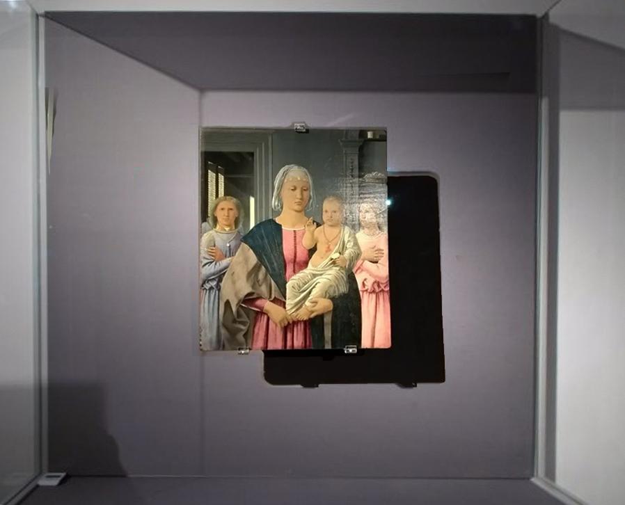 3 Piero della Francesca Madonna di Senigallia Palazzo Ducale Urbino