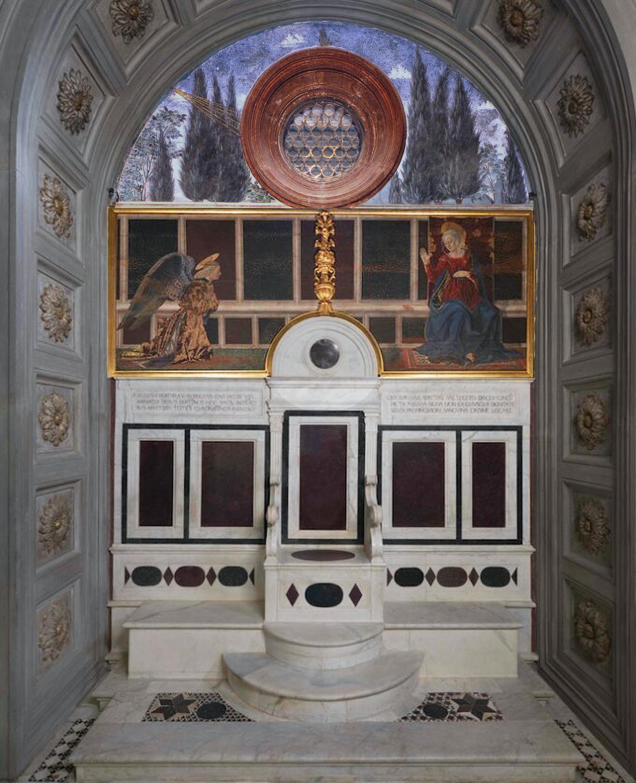 30 Cardinal of Portugal chapel throne wall