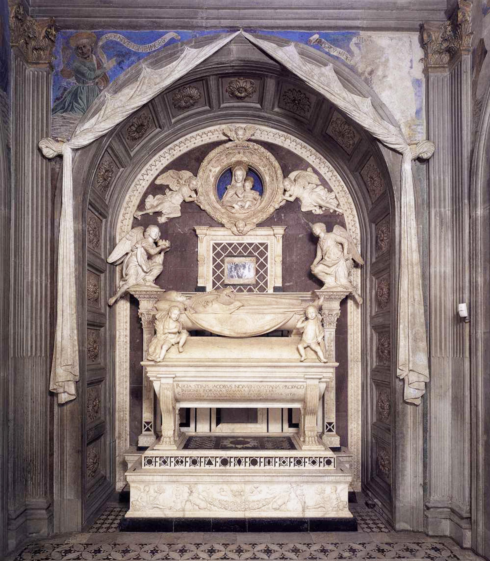 31 Cardinal of Portugal chapel monument wall B