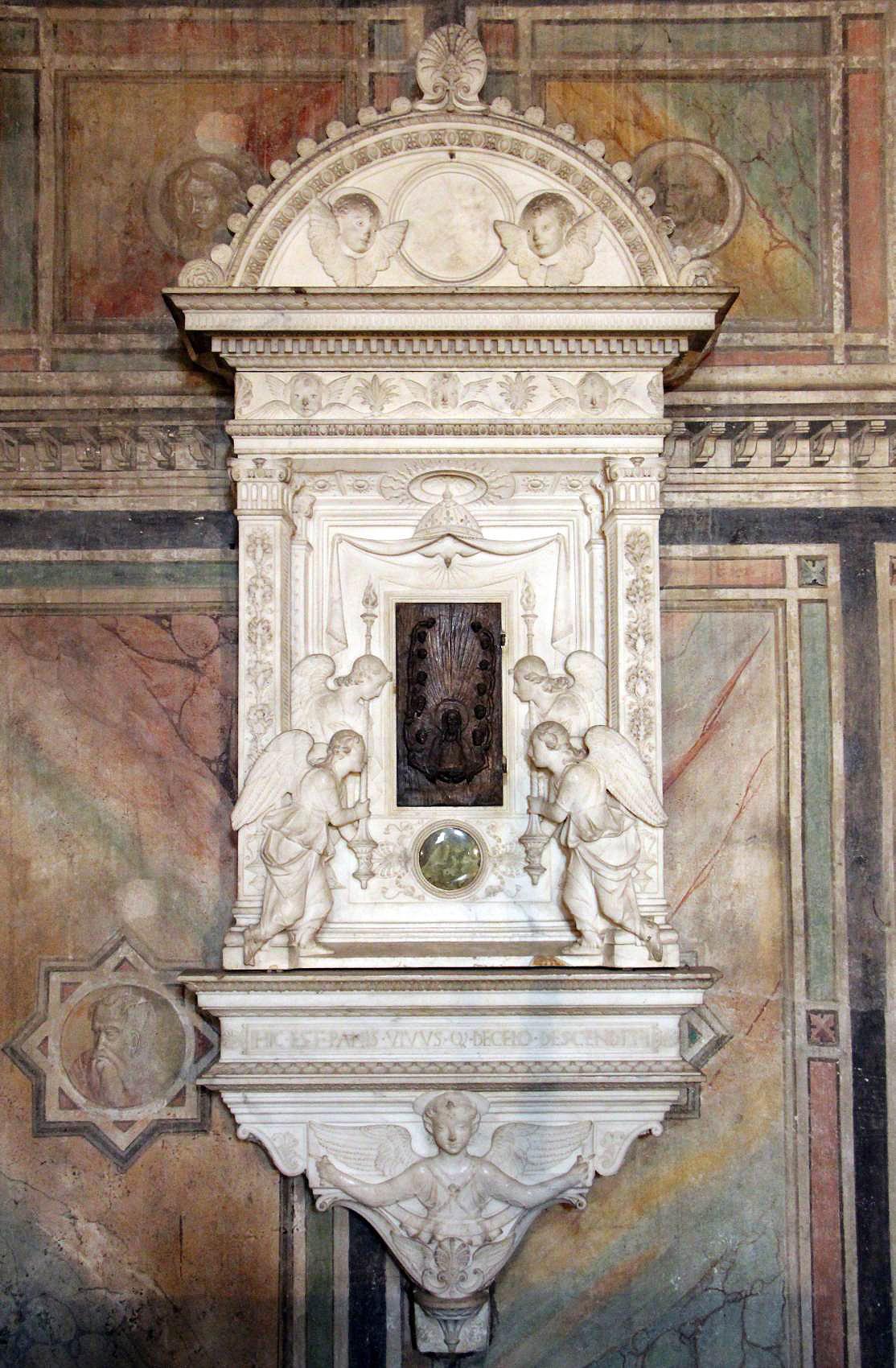 33 Mina da Fiesole Tabernacle of the Sacrament c1473 Santa Croce
