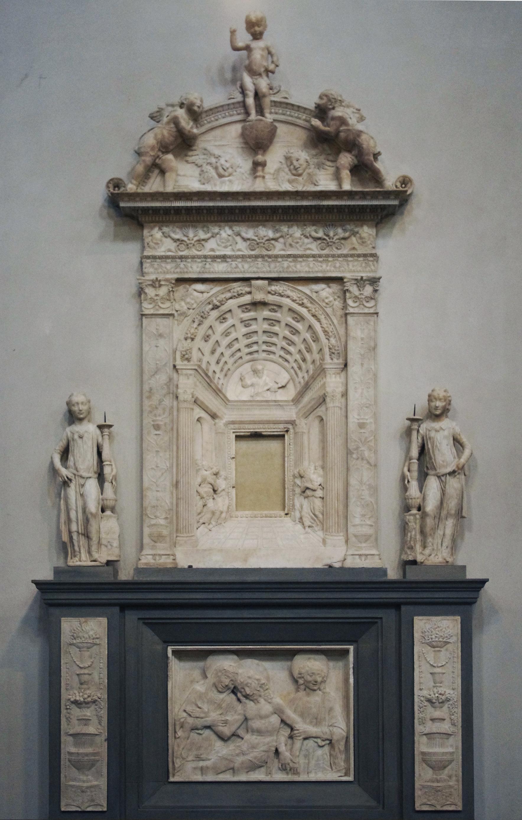 34 Desiderio da Settignano Tabernacle S Lorenzo 1461