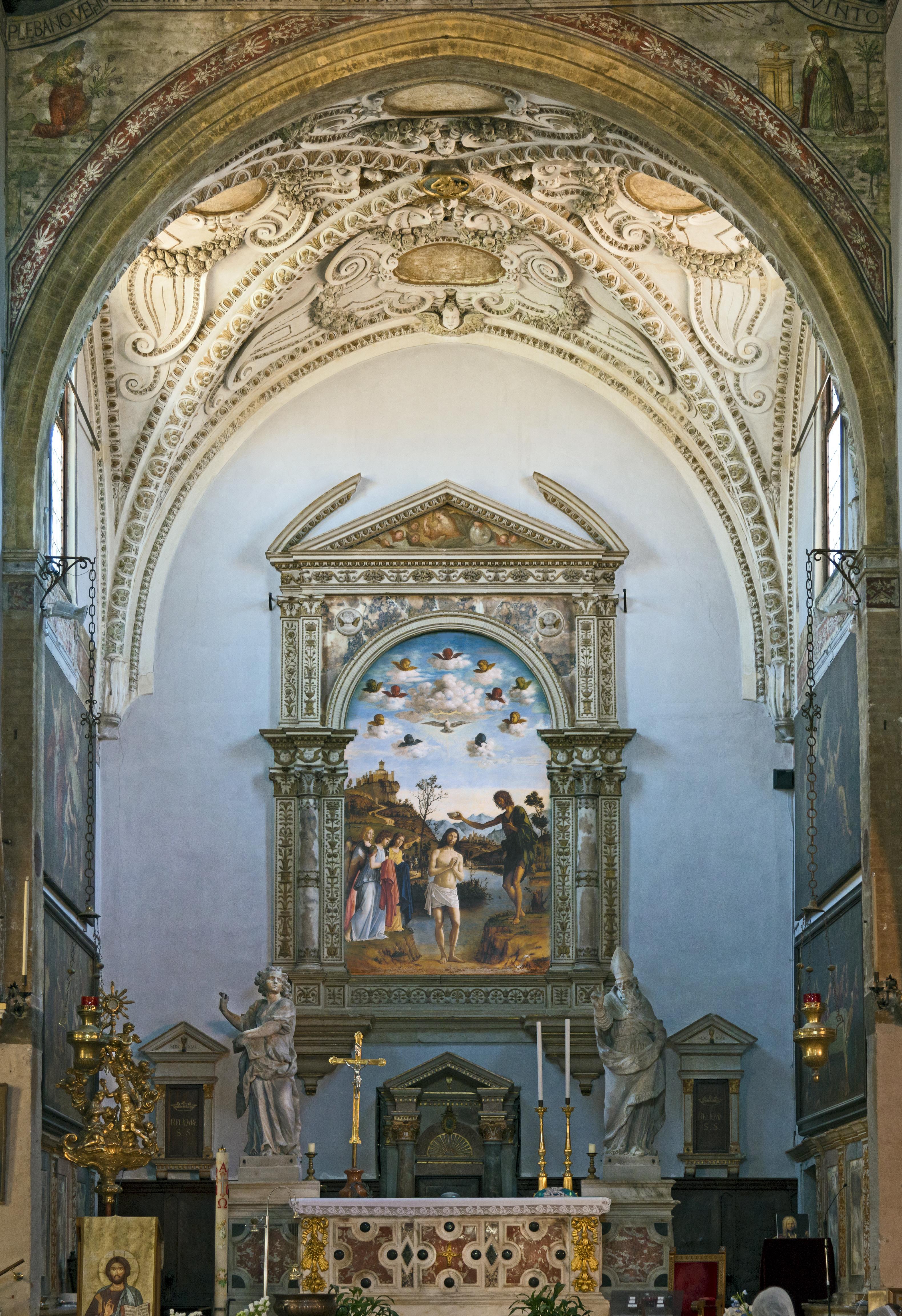 San Giovanni in Bragora Interno