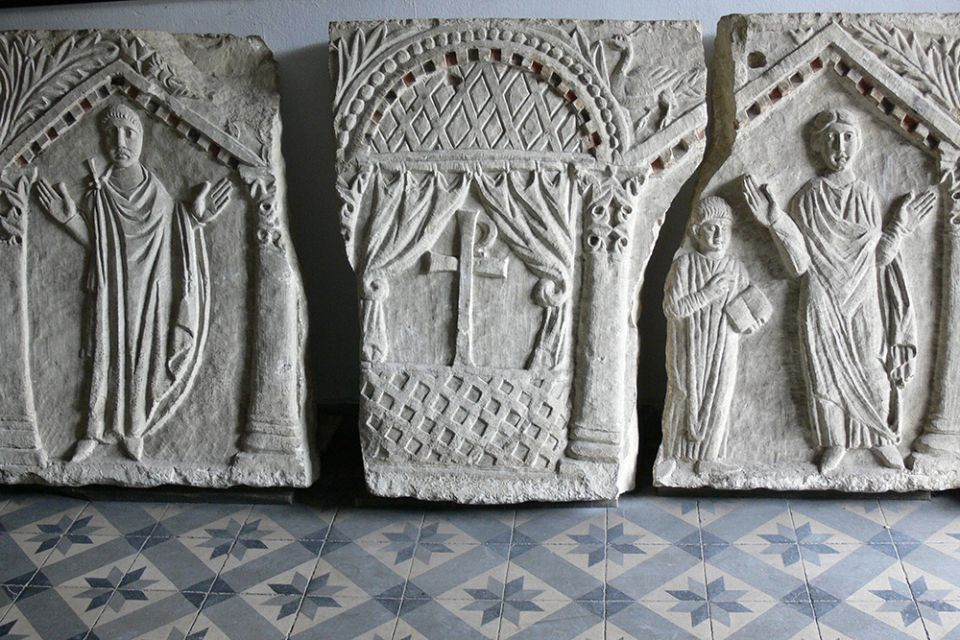 8B Sarcophagus c430 Hagia Sofia now Instanbul Archaeological Museum