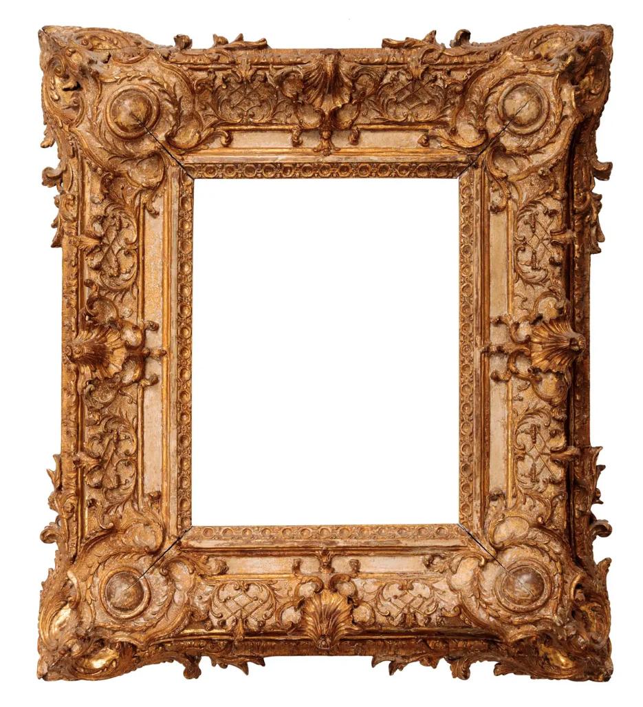 13B French Régence frame 62x53.5cm 1stdibs