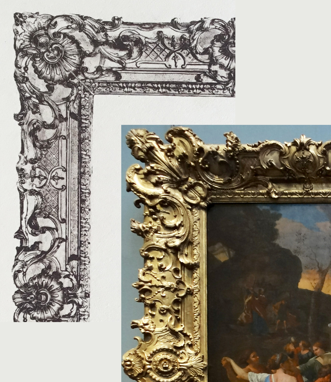 15C Details of Plate 44 & Poussin Golden Calf