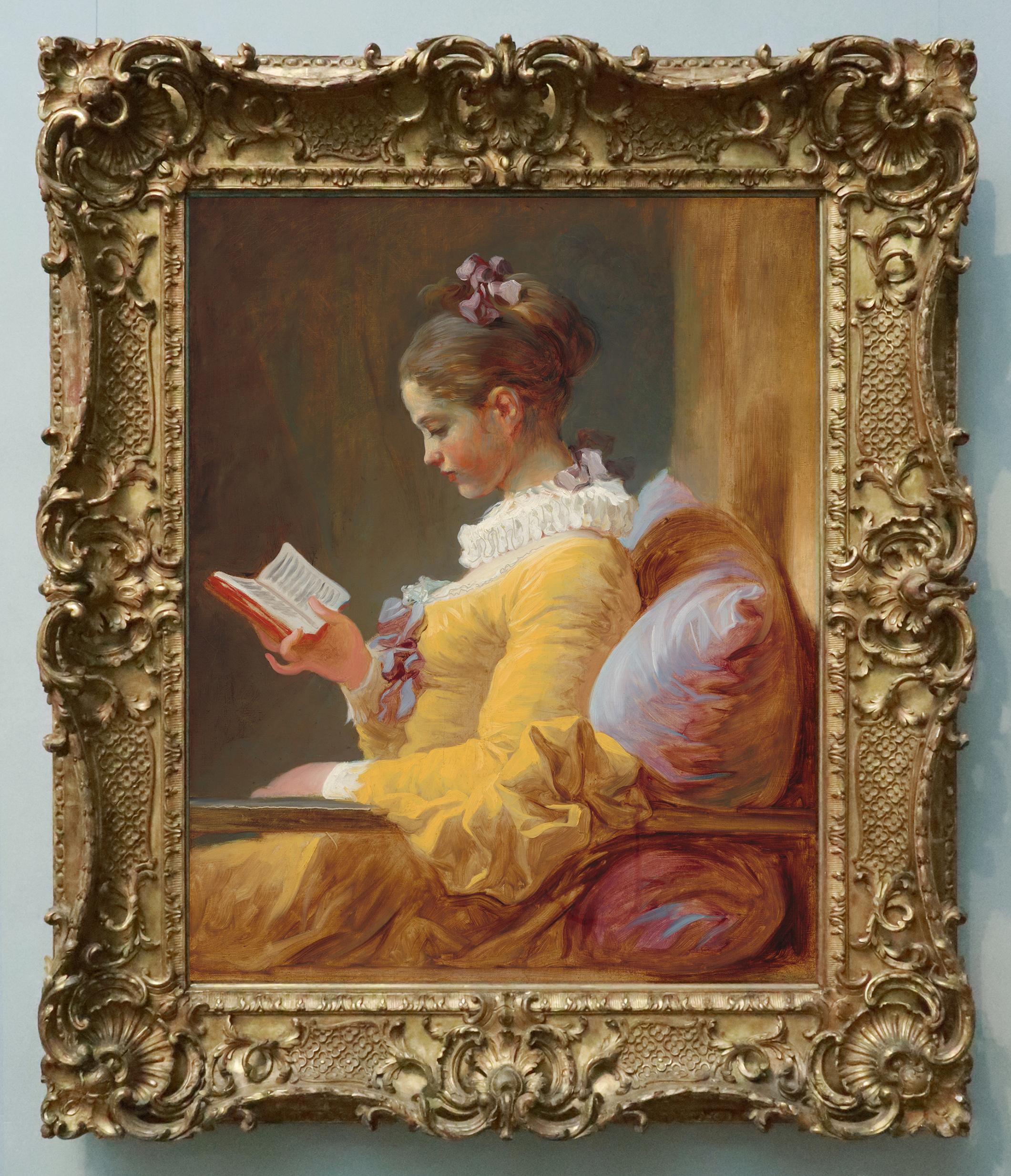 17D Fragonard Young girl reading c1769 o c 81.1x64.8cm NGA Washington