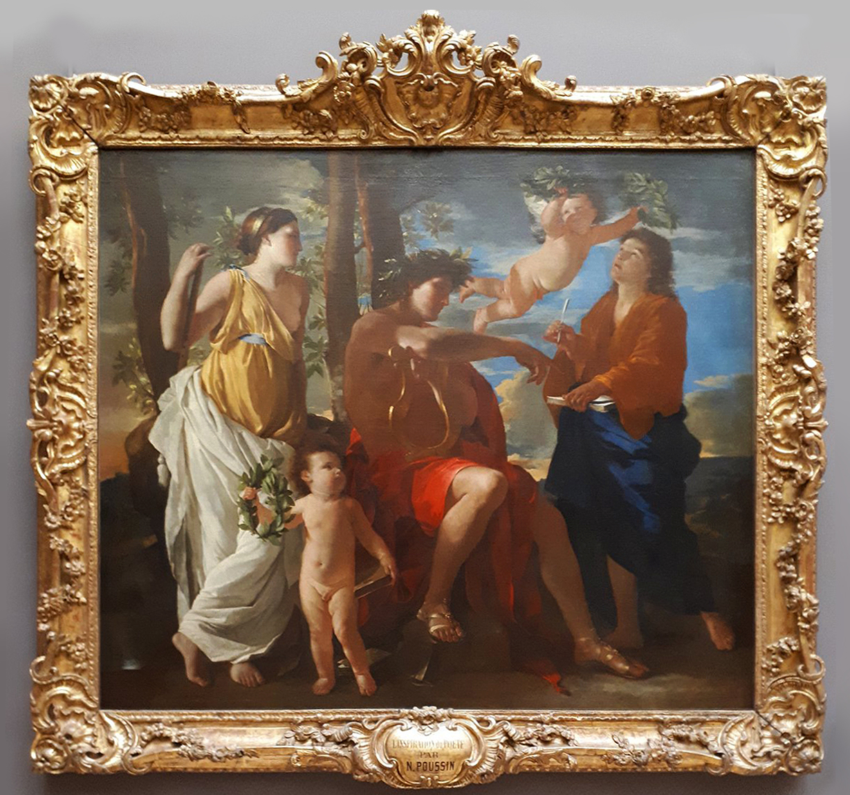 26B Poussin Inspiration of the poet Mus du Louvre