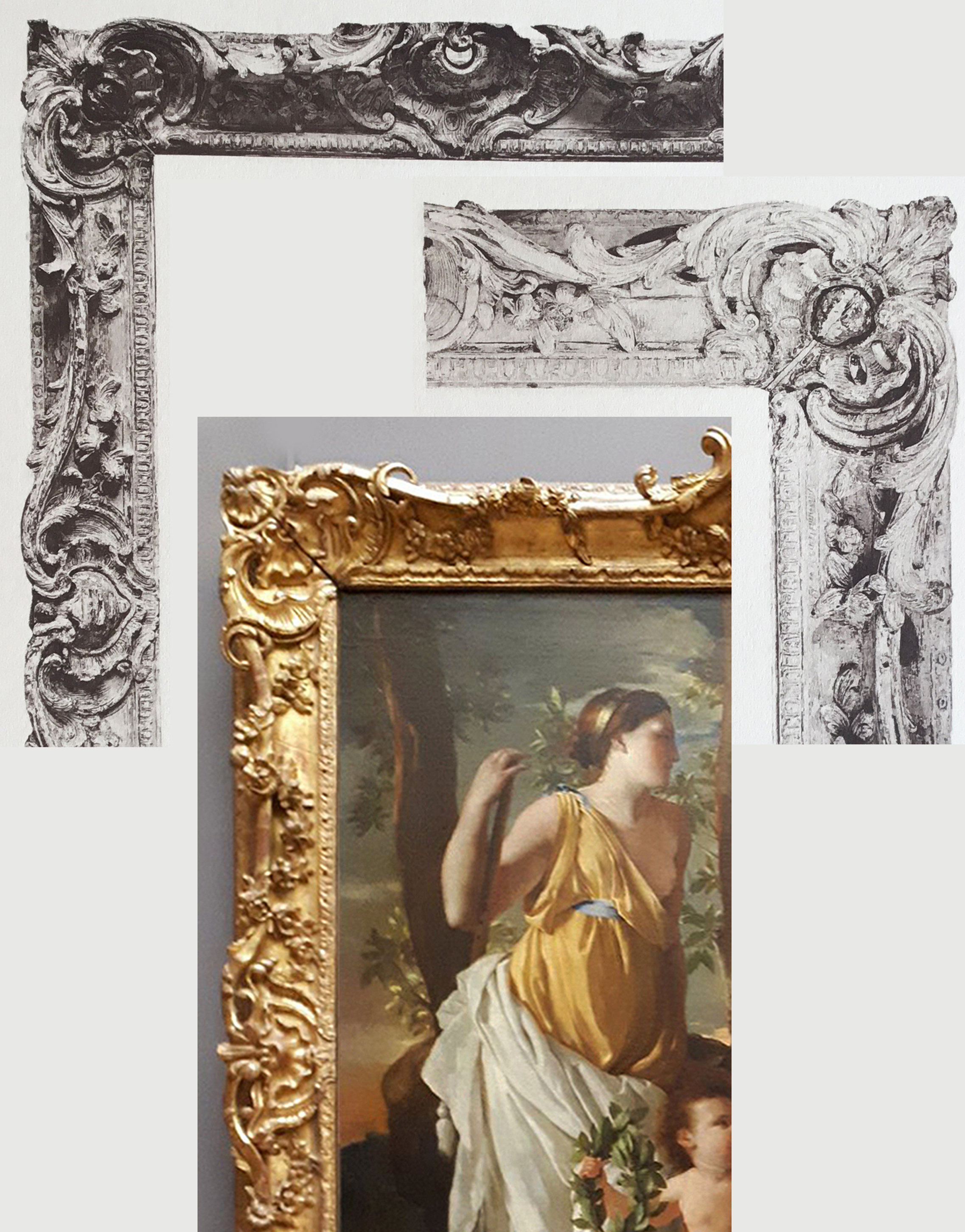 26C Details of Plate 58 & Poussin Inspiration of the poet