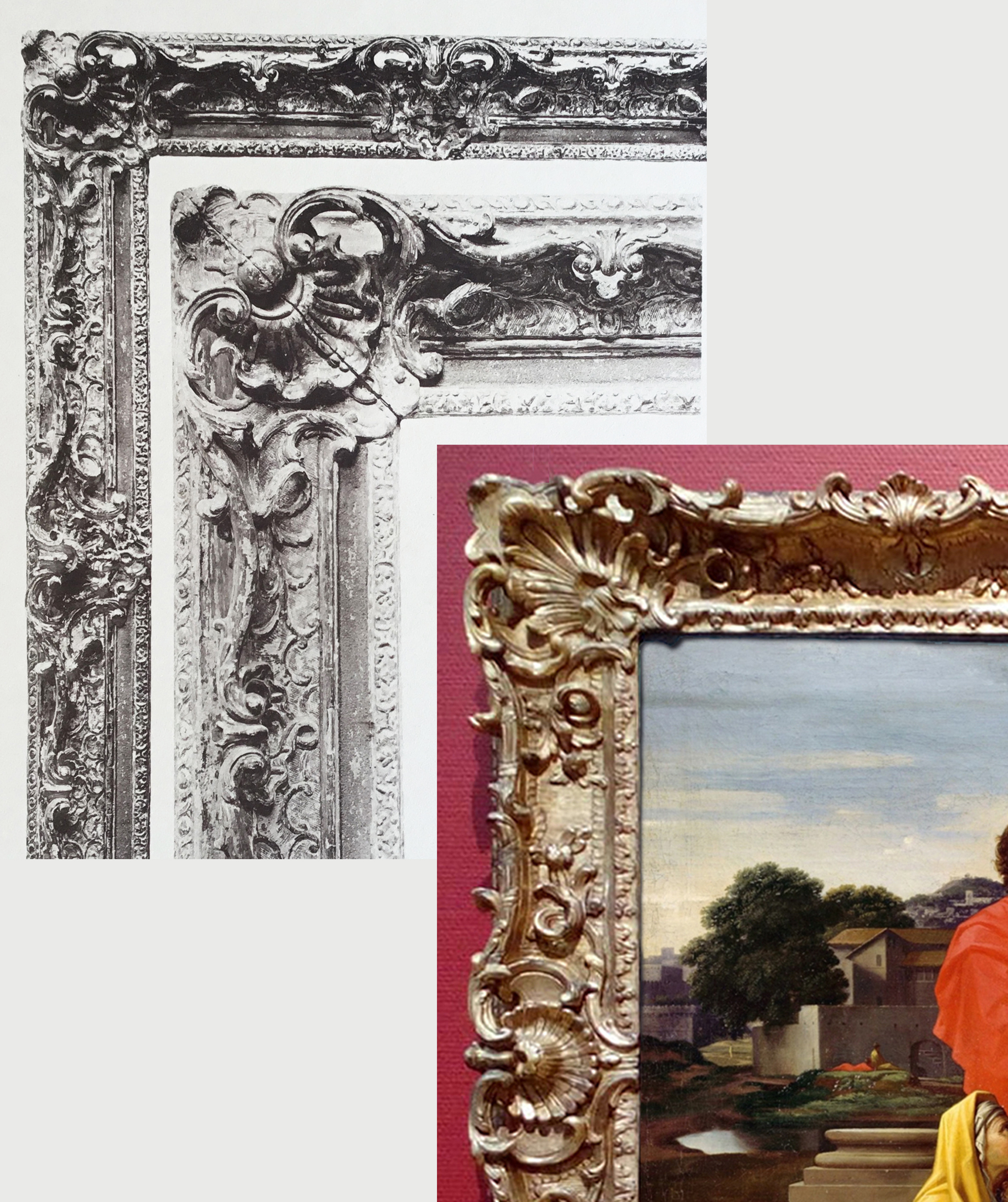 27C Details of Plate 59 & Poussin Holy Family