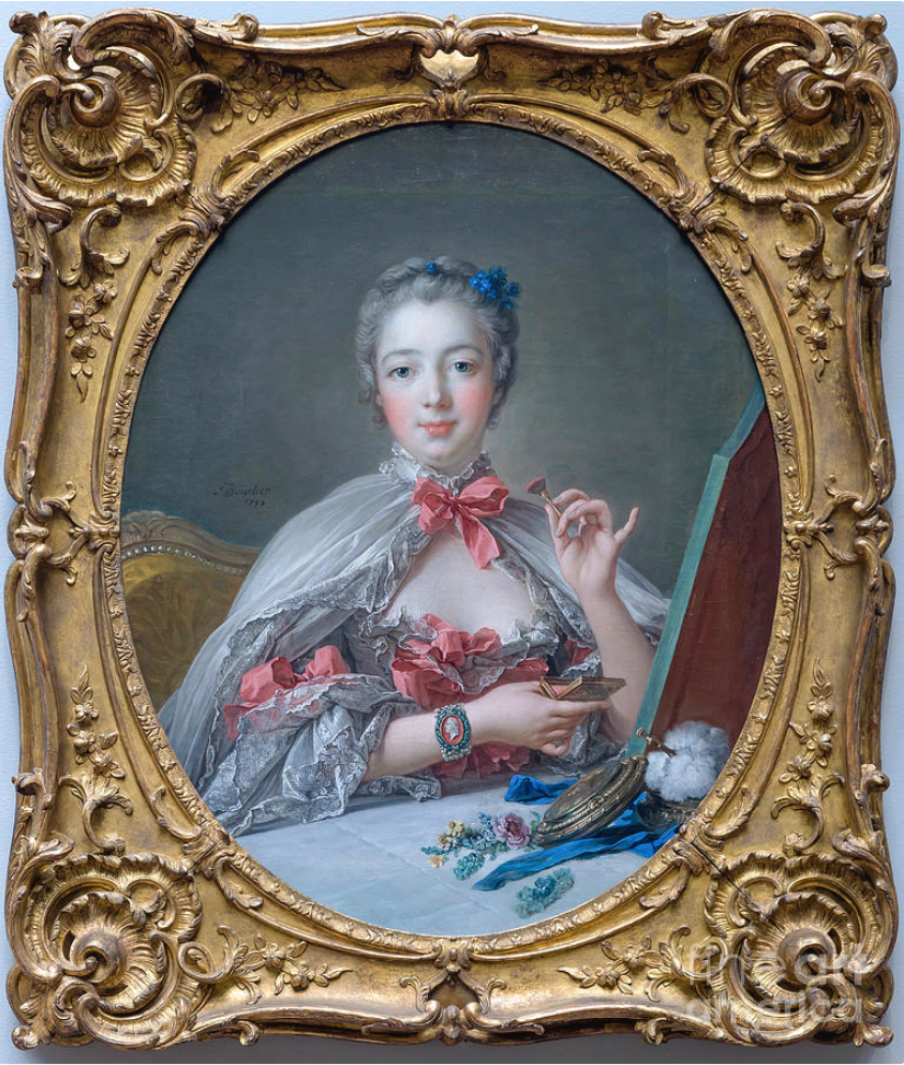 28B Boucher Mme de Pompadour at her toilette 1750 Fogg Museum Harvard Art Museums
