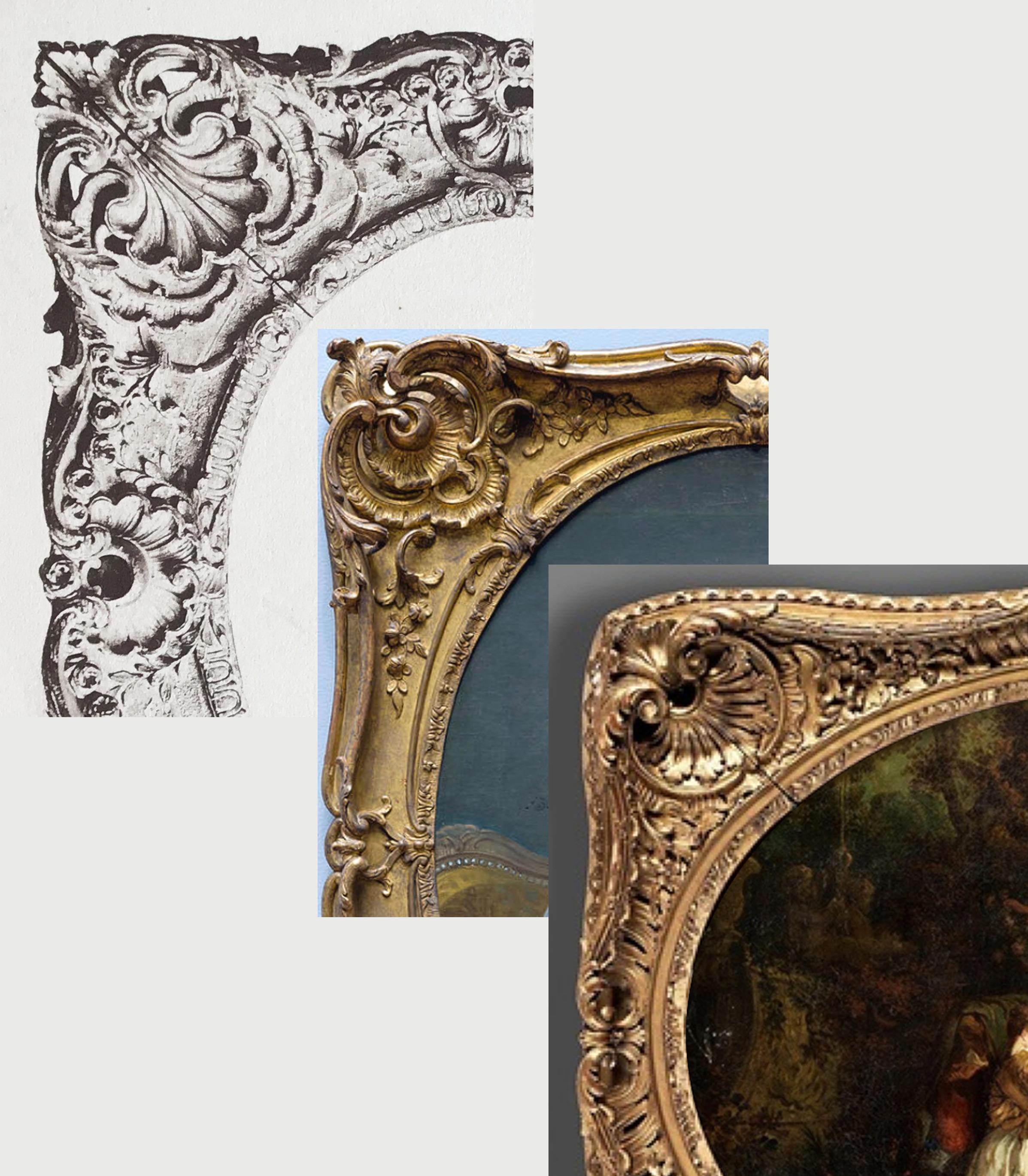28D Details of Plate 60 Boucher & Watteau