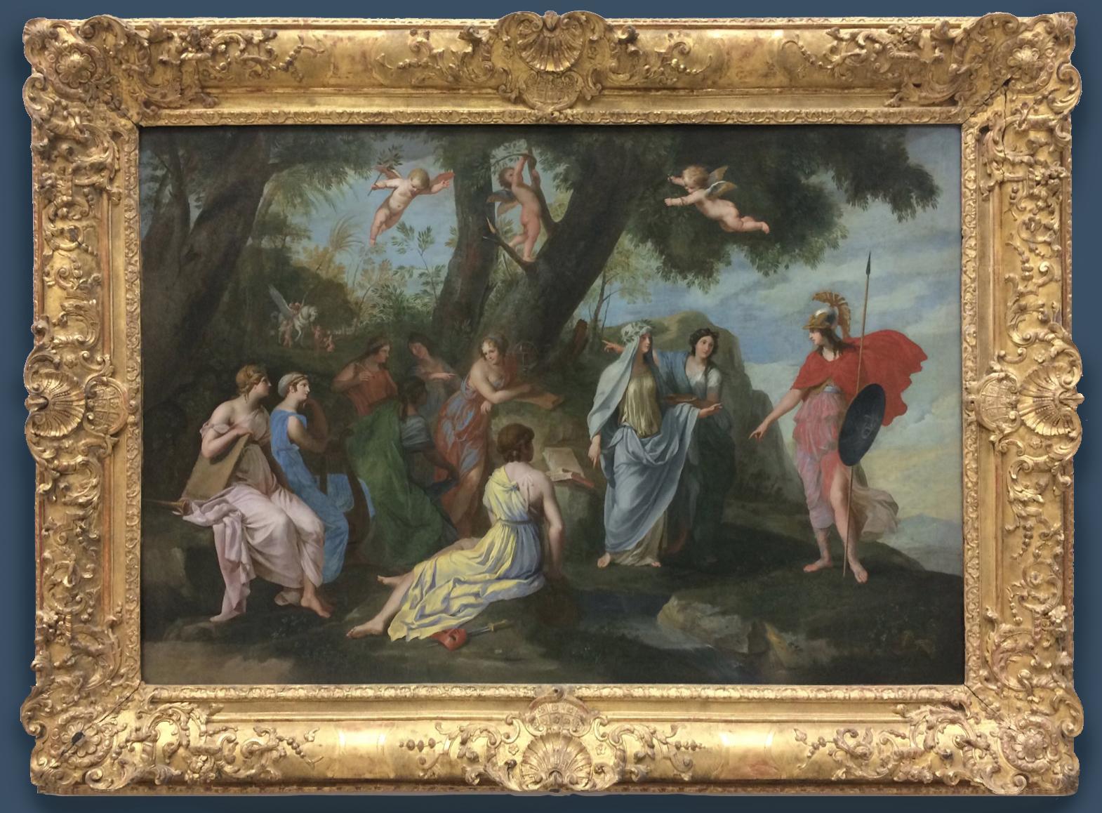 5B Stella Minerve chez les Muses