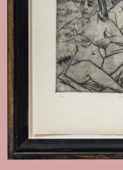 12A Max Pechstein Nach dem Bad 1920 detail