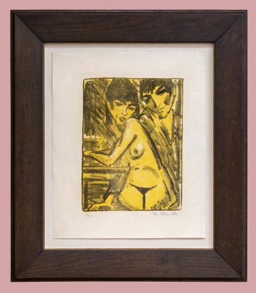 12B Otto Mueller Paar am Tisch 1922to25