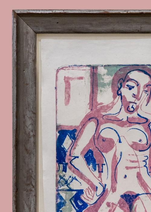 12E Kirchner Nackte Frau 1927