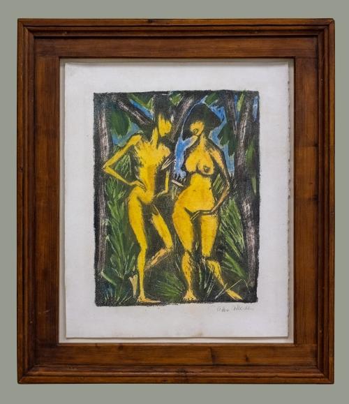 4B Otto Mueller Adam und Eva 1920to23