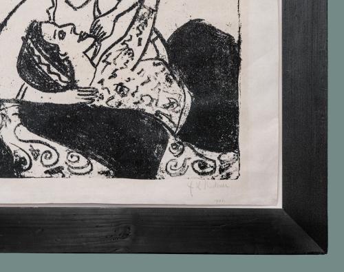 6A Kirchner Werbendes Mädchen 1911